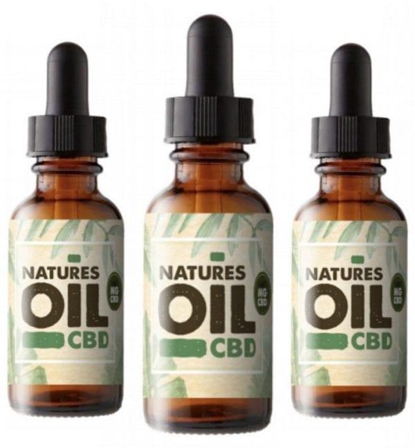 Natures Oil - CBD Oral Oil Tincture 0% THC count(alt)
