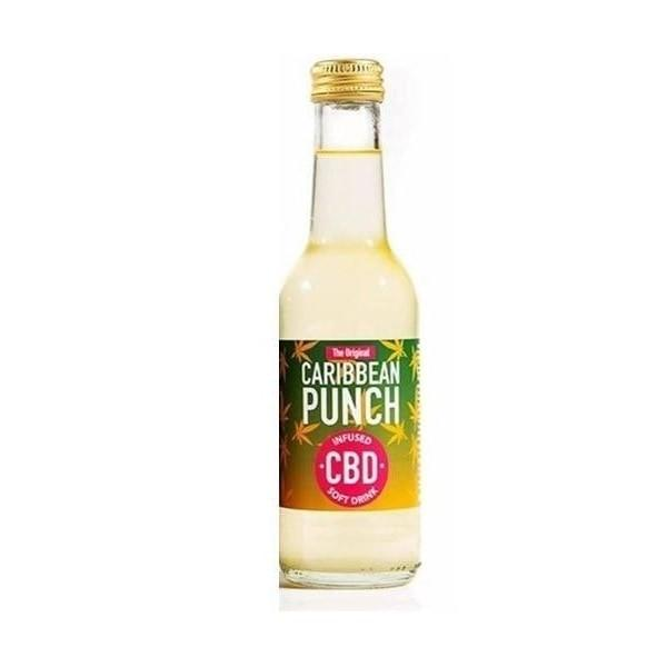 Caribbean Punch CBD Infused Soft Drink count(alt)