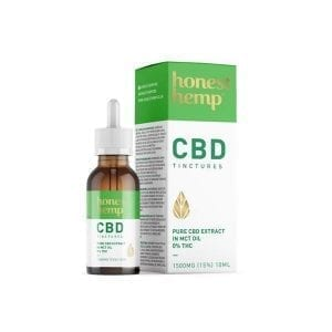 Broadies Supplements Cannabis CBD Oil Drops (RAW) count(alt)