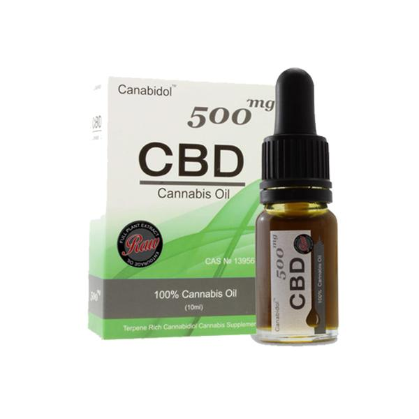 Canabidol CBD Raw Cannabis Oil Drops 10ml count(alt)