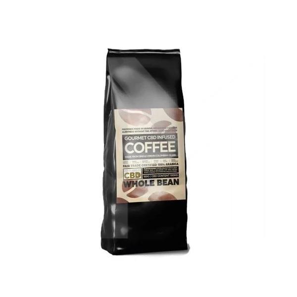 Equilibrium CBD 100mg Gourmet Whole Bean Coffee 100g Bag count(alt)