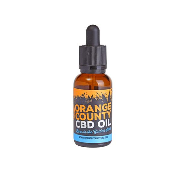 Orange County CBD 1500mg 30ml MCT Oil - Organic Coconut Oil count(alt)