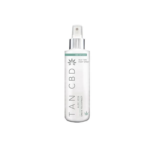 Tan CBD 75mg CBD Infused Self Tan Pump Spray 200ml count(alt)