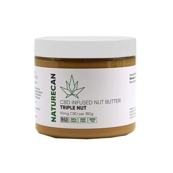 Naturecan 90mg CBD 180g Nut Butter Triple Nut count(alt)