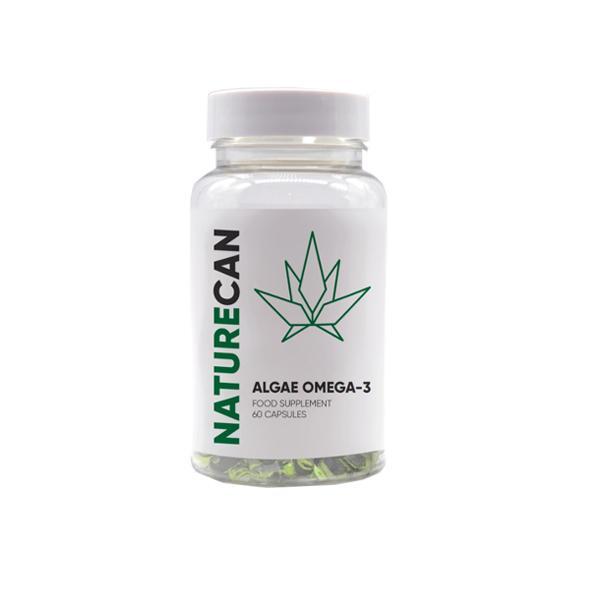 Naturecan Algae Omega-3 Capsules - 60 Caps count(alt)