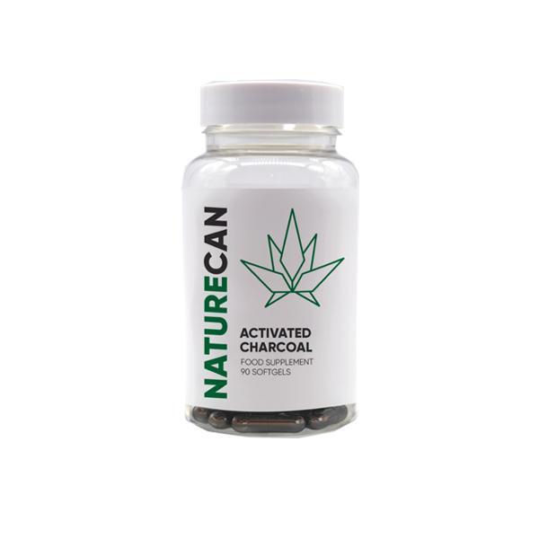Naturecan Activated Charcoal Capsules - 90 Caps count(alt)