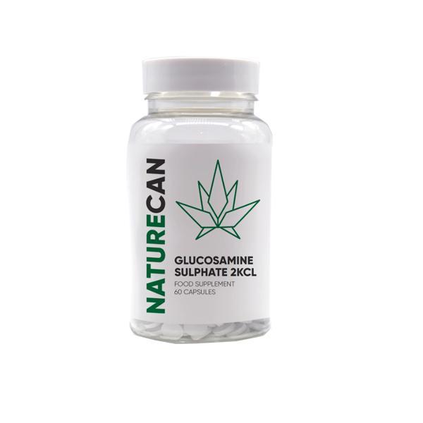 Naturecan Glucosamine Sulphate 60 Capsules count(alt)