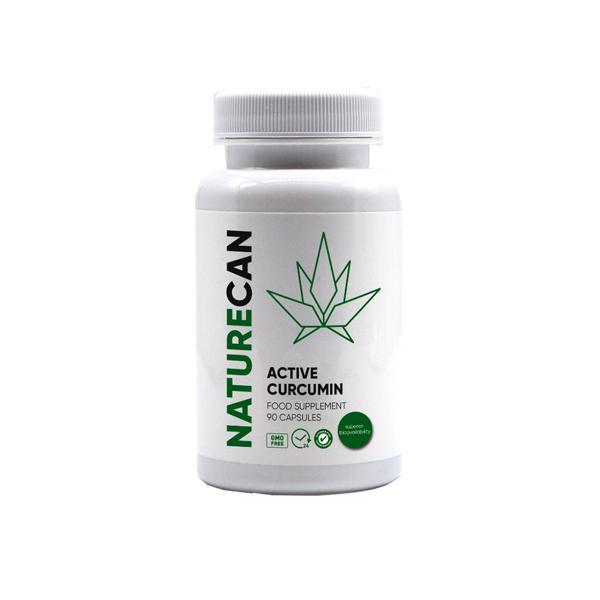 Naturecan Active Curcumin 90 Capsules count(alt)