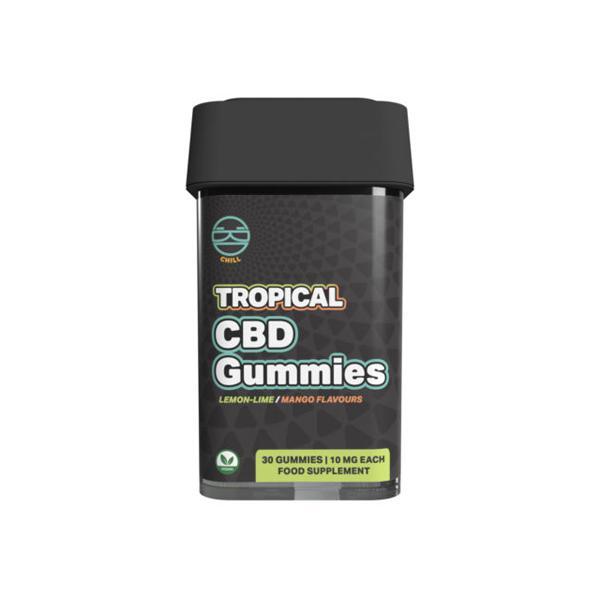 Zoetic 300mg CBD Chill Gummies - Tropical count(alt)