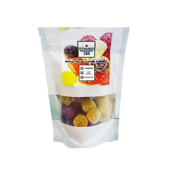 Dynamic CBD Sugar Coated CBD Jelly Dome Gummies 300mg count(alt)