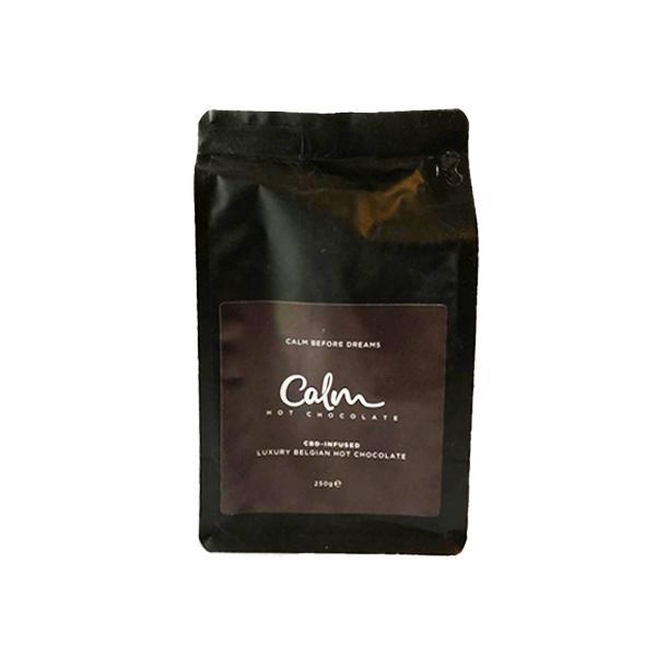 Calm CBD 100mg Belgian Hot Chocolate 250g Bag count(alt)