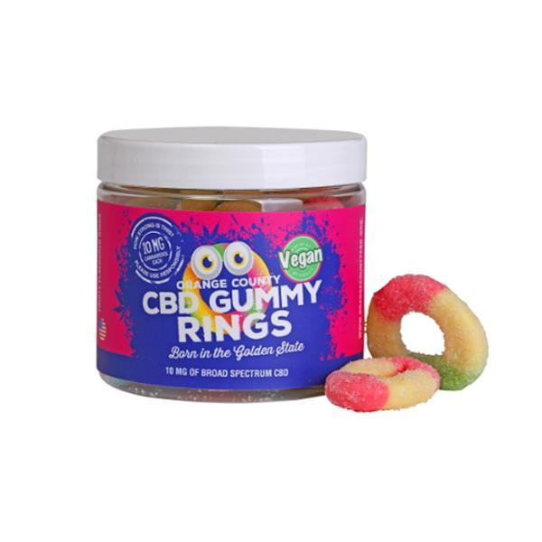 Orange County CBD 50mg Gummy Rings - Small Pack count(alt)