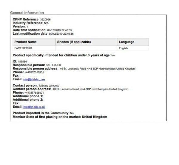 CBD Drop Face Serum 150mg CBD 30ml count(alt)