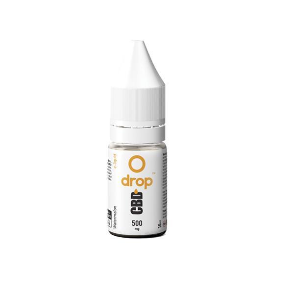 CBD Drop Flavoured E-Liquid 500mg 10ml count(alt)