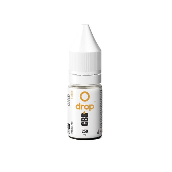 CBD Drop Flavoured E-Liquid 250mg 10ml count(alt)