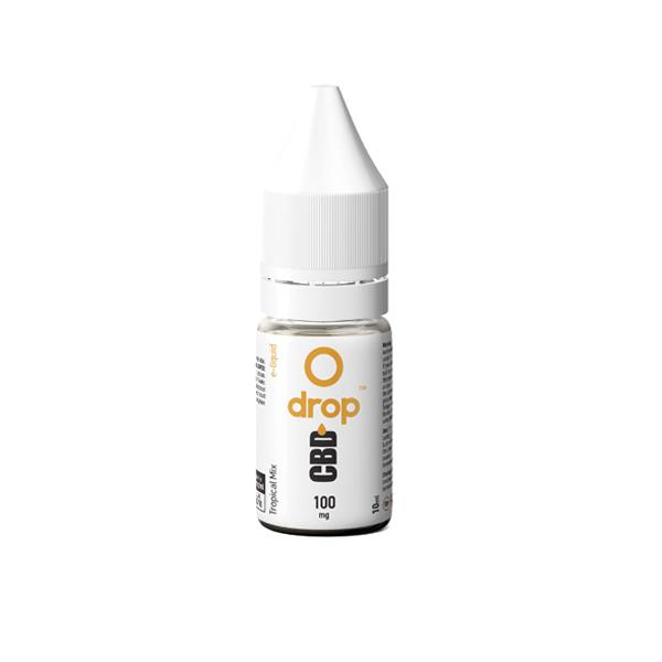 CBD Drop Flavoured E-Liquid 100mg 10ml count(alt)