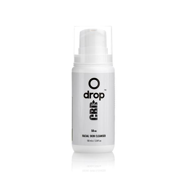 CBD Drop Facial Skin Cleanser 50mg CBD 100ml count(alt)