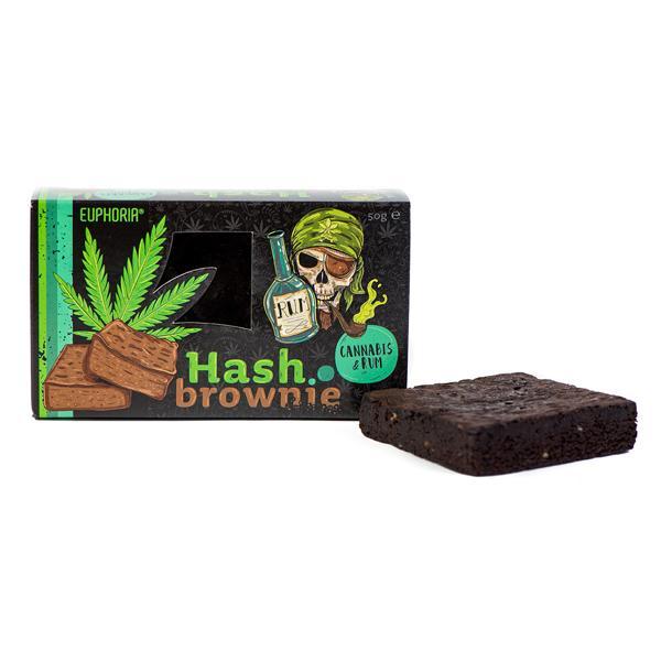Euphoria Hash Brownie Cannabis & Rum count(alt)