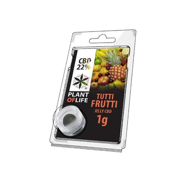 CBD 1g Jelly Tutti Frutti 22% count(alt)