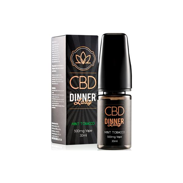 Dinner Lady 500mg CBD 30ml E-Liquid (70VG/30PG) count(alt)