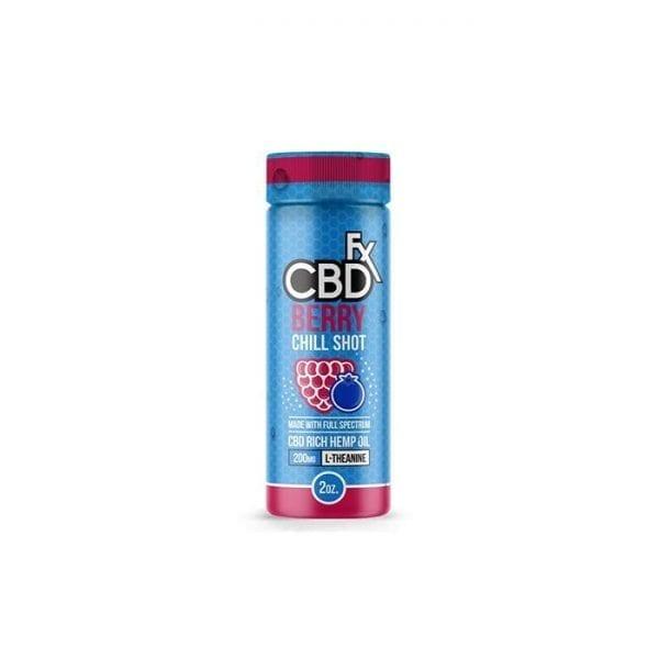 CBDfx Drink   Berry CBD Chill Shot count(alt)