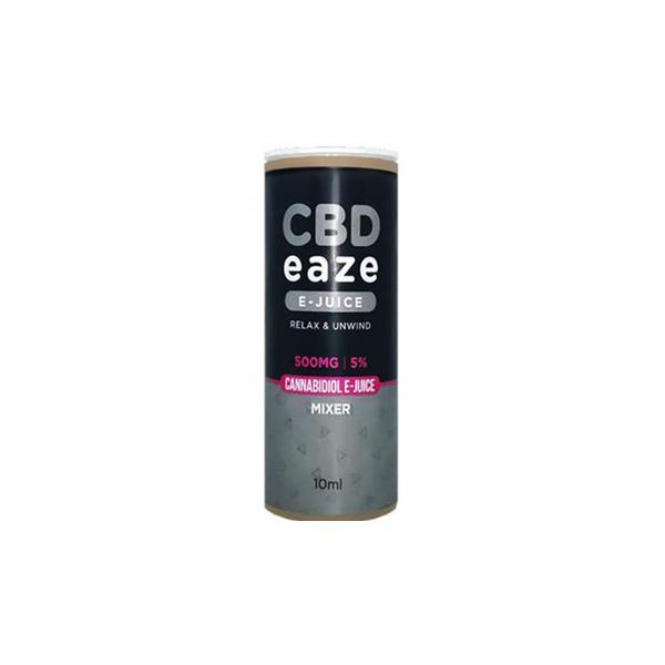 CBD Eaze 500MG CBD 10ml E-Liquid count(alt)