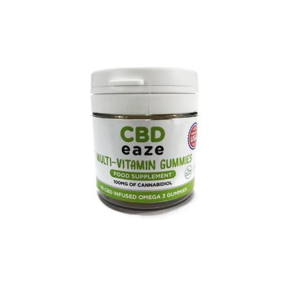 CBD Eaze Multi Vitamin 100mg CBD Gummies count(alt)