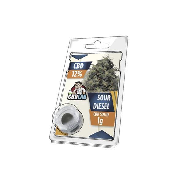 CBD LAB 1g Hash Sour Diesel 12% count(alt)