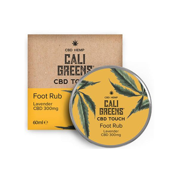 Cali Greens 300mg  CBD Touch Foot Rub Lavender 60ml count(alt)