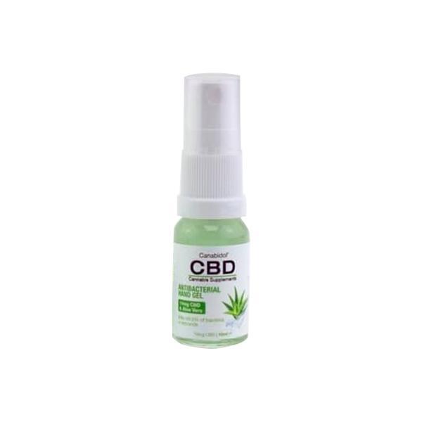 Canabidol CBD Antibacterial Hand Sanitiser 10ml count(alt)