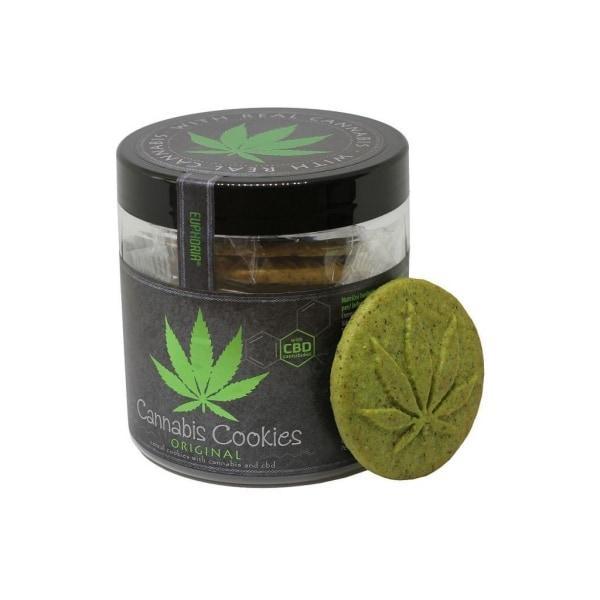Euphoria Cannabis Cookies With CBD - Original count(alt)