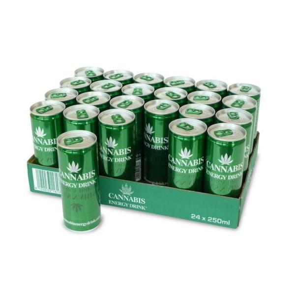 Cannabis Energy Drink 250ml with Hemp Seed Extract count(alt)