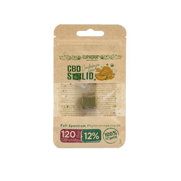 Euphoria CBD Solid Hash 1g Cantaloupe Haze 12% count(alt)