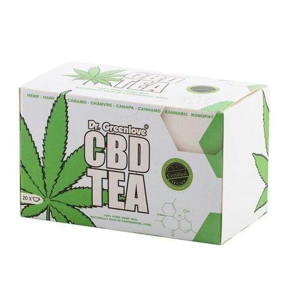 Dr Greenlove's CBD Tea count(alt)