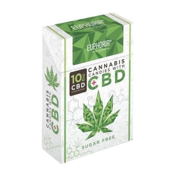 Euphoria 10MG CBD Cannabis Candies count(alt)