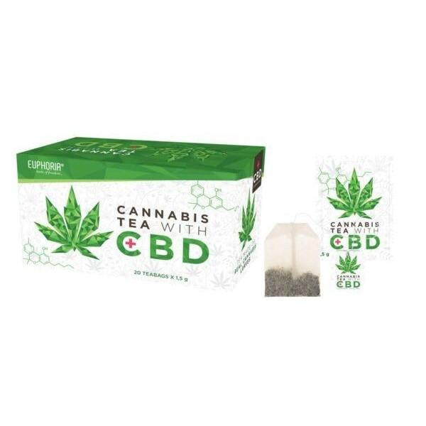 Euphoria Cannabis Tea With CBD count(alt)
