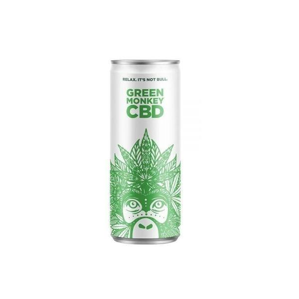 Green Monkey Carbonated 250ml CBD Drink count(alt)