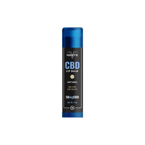 Ignite 50mg CBD Lip Balm count(alt)