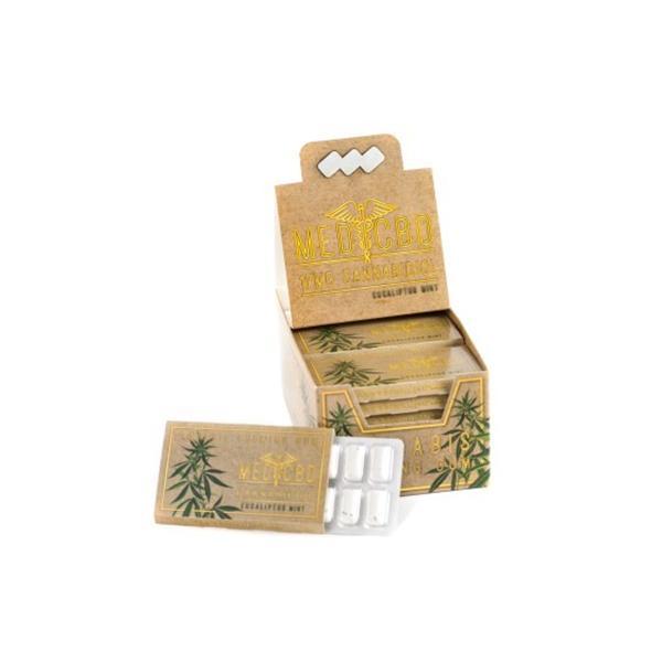 Multitrance 17mg CBD Chewing Gum Eucalyptus count(alt)
