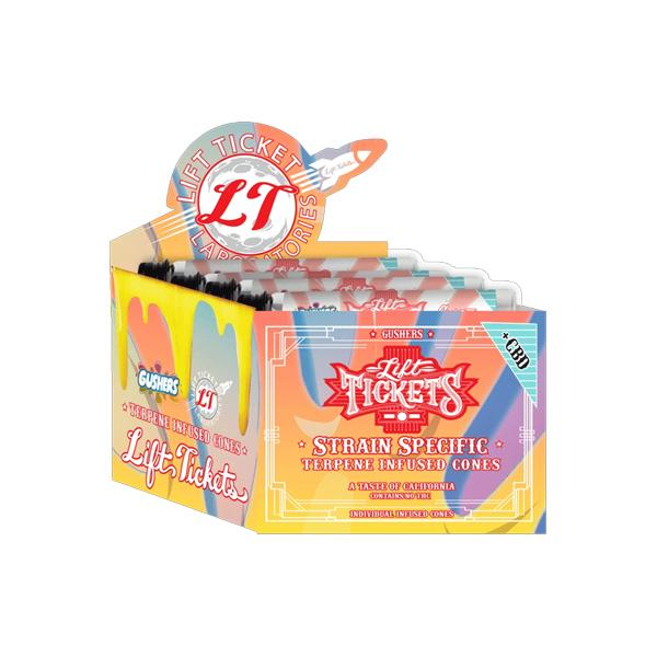 Lift Tickets 710 CBD Terpene Infused Rolling Cones - Gushers count(alt)