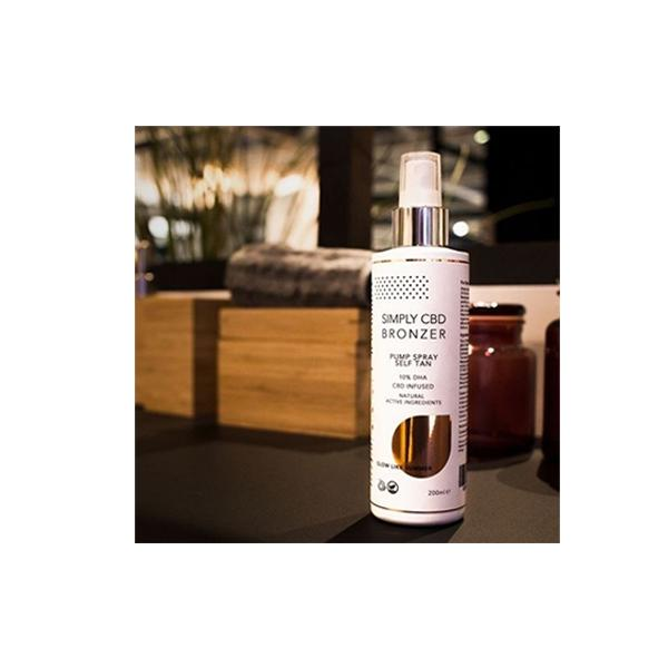 Simply CBD Bronzer - Self Tan Pump Spray 200ml count(alt)
