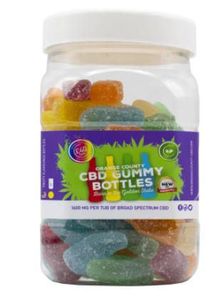 Orange County CBD - Gummy Bottles count(alt)