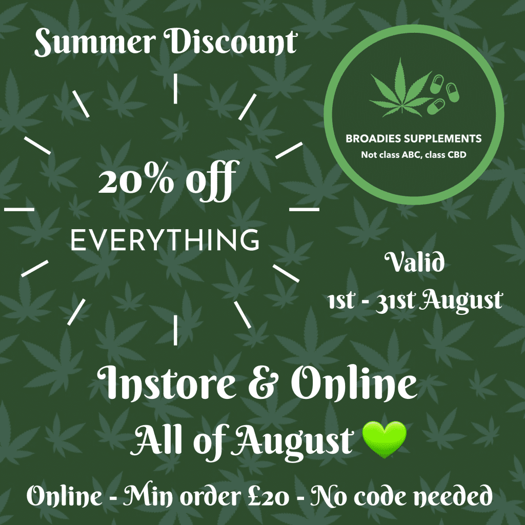 20% off August count(alt)
