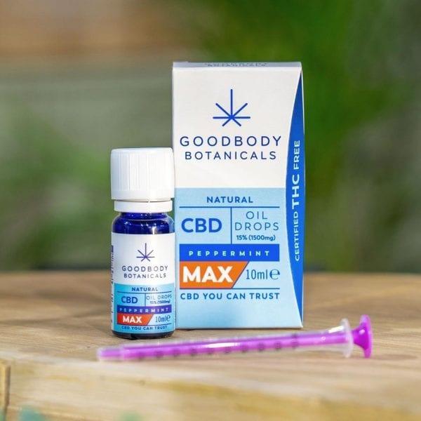 Goodbody Botanicals - CBD Oil Drops 10ml count(alt)