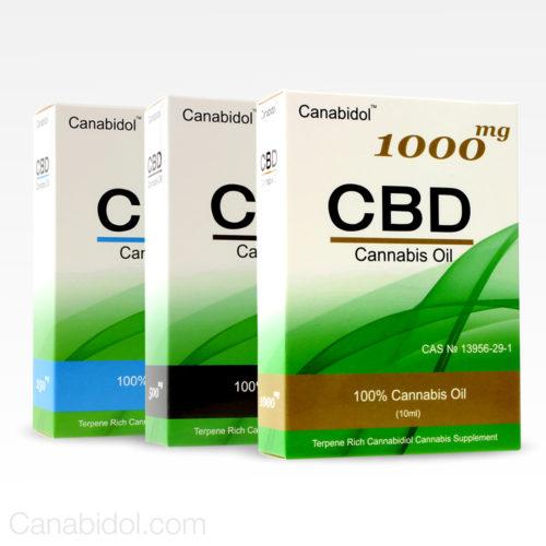 CANABIDOL® CANNABIS CBD OIL DROPS count(alt)