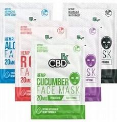 CBDfx 20mg CBD Face Mask count(alt)