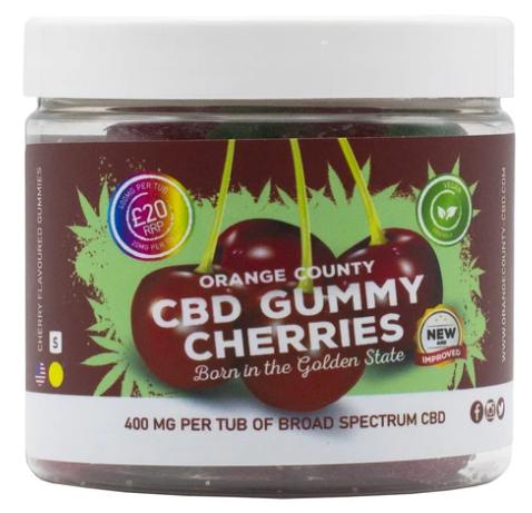 Orange County CBD - CBD Gummy Cherries count(alt)