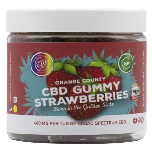 Orange County CBD - CBD Gummy Strawberries count(alt)