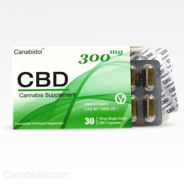 CANABIDOL® CBD Oral Capsules 300MG count(alt)
