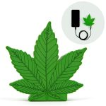 Cannabis power bank 3000mAh Android iPhone + micro USB count(alt)